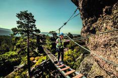 Foto 2 - Turismo de acero y de aventura: Vía Ferrata La Graja en Duruelo