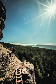 Foto 3 - Turismo de acero y de aventura: Vía Ferrata La Graja en Duruelo