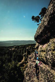 Foto 4 - Turismo de acero y de aventura: Vía Ferrata La Graja en Duruelo
