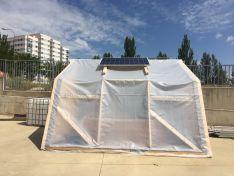 VÍDEO: Los alumnos del Pico Frentes desarrollan un invernadero pasivo para huertos escolares
