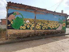 Una imagen del mural. /Alpargata