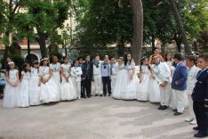 Una imagen de la fiesta organizada por el establecimiento de la calle Nicolás Rabal.