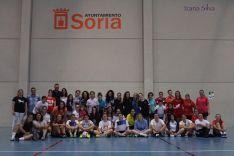 Castellanas y Torreznas, ganadoras del I Torneo de Fútbol Sala Femenino San José