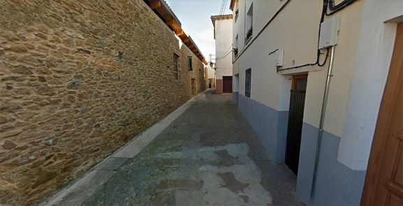 La calle Mezquitas, en Ágreda, testimonio del pasado musulmán de la Villa de las Tres Culturas.