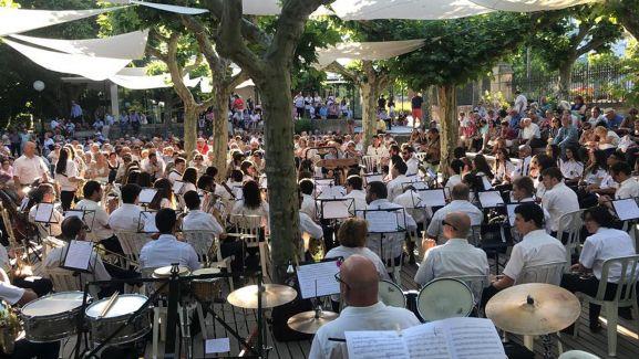 Concierto de la Banda en la Dehesa este verano.