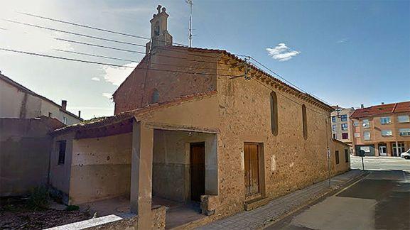 La capilla del Carmen, en Ágreda. /GM