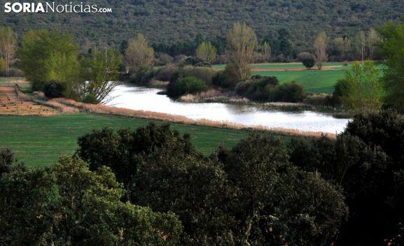 Uno de los tramos del río cerca de Tardajos. /SN