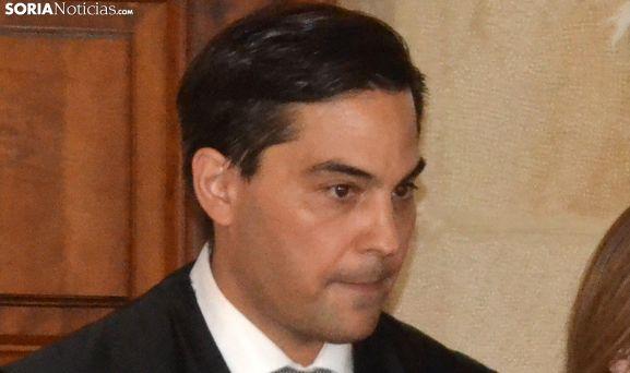 Juan Carlos Padín, en la toma de posesión del cargo, el 27 de julio de 2018. /SN