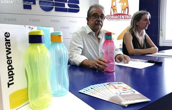 Jesús Muñoz y Yolanda Santos este jueves. /SN