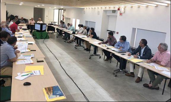 Una imagen de la reunión. /COPISO