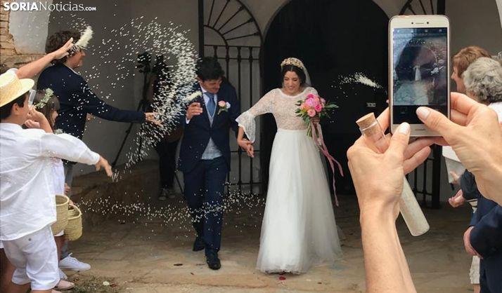 Montenegro de Ágreda, de boda 28 años después