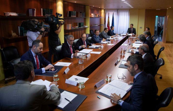 Imagen de la constitución de la Comisión.