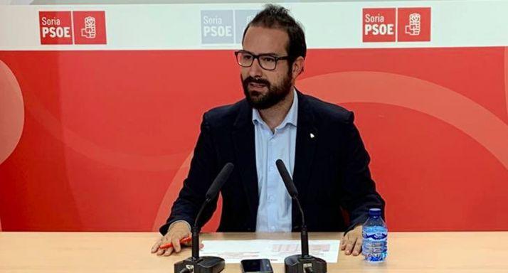 Ángel Hernández, este lunes en rueda informativa.
