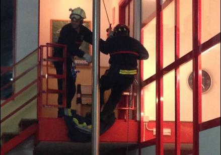 Imagen de archivo los bomberos de El Burgo de Osma.  /Fb