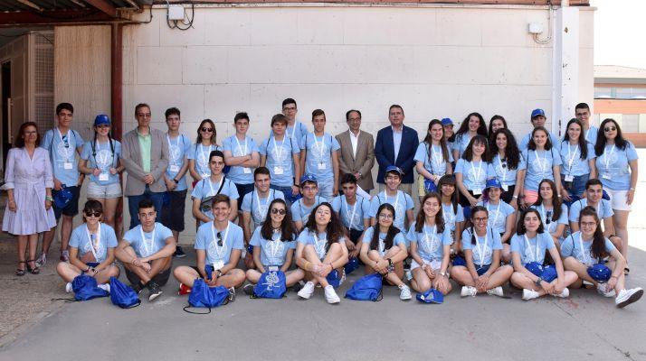 Foto 1 - Abre en Soria el VI Campus de Profundización Científica de Castilla y León de la Junta con 38 alumnos