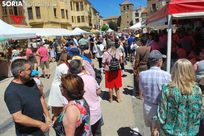 Imagen del Mercado Tradicional de Almarza 2018.