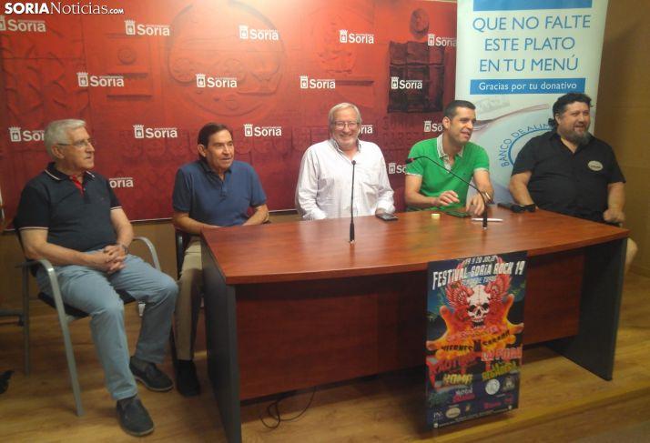 Rueda de prensa de presentación del Soria Rock.