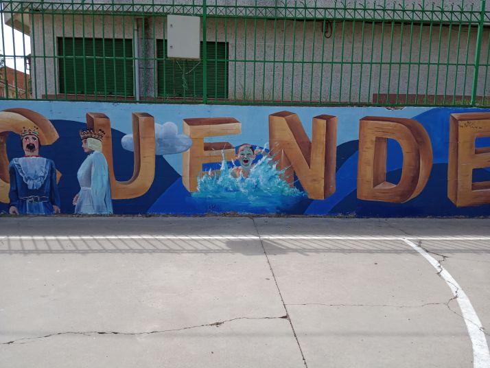 Foto 2 - Tardelcuende también se suma a los murales urbanos