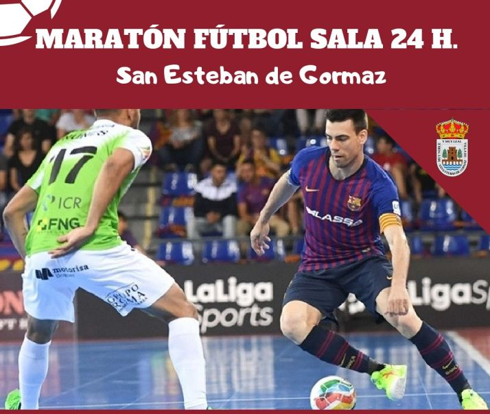 Foto 1 - 24 horas de fútbol en San Esteban de Gormaz
