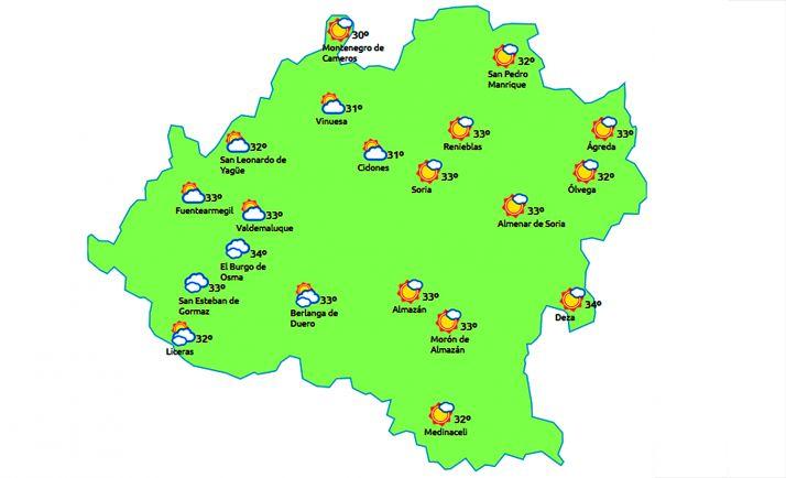 Foto 1 - Temperaturas hasta los 37º C para este martes