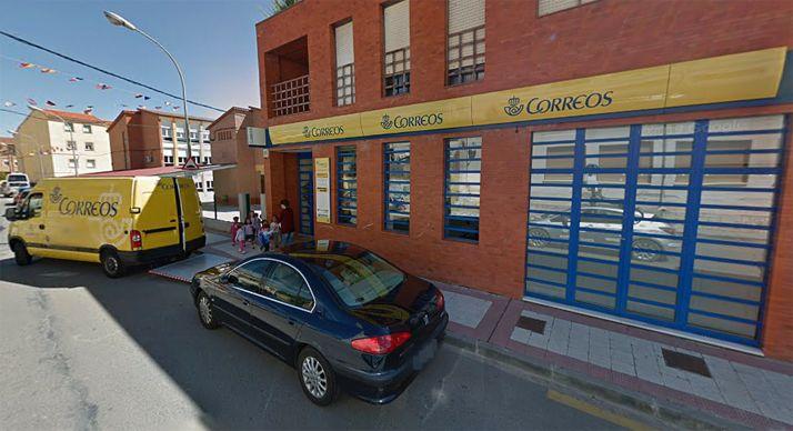 La oficina de Correos en Arcos de Jalón, una de las afectadas. /GM