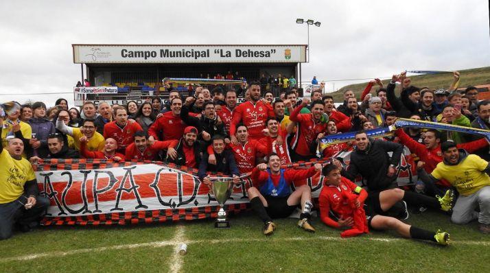 La Sampedrana, equipo ganador de la pasada edición.