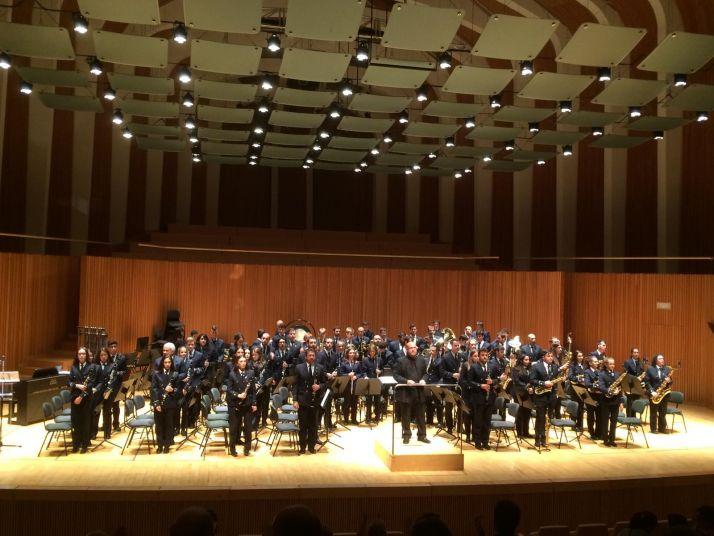 Imágenes de la actuación de la Banda en Valencia.