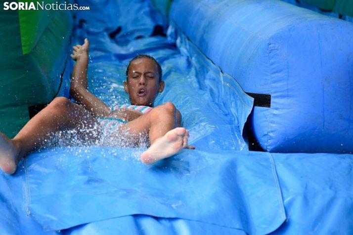 Toboganes acuáticos de Camaretas.