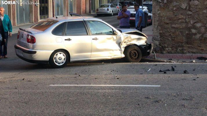 Foto 2 - Una persona herida en un accidente en García Solier