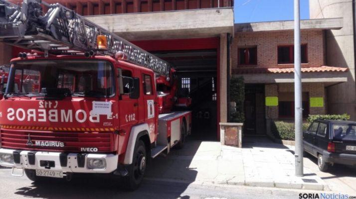 Foto 1 - Extinguido un incendio en Carazuelo (Candilichera)