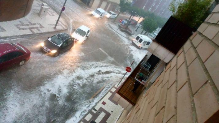 Una imagen de la tormenta. /SN