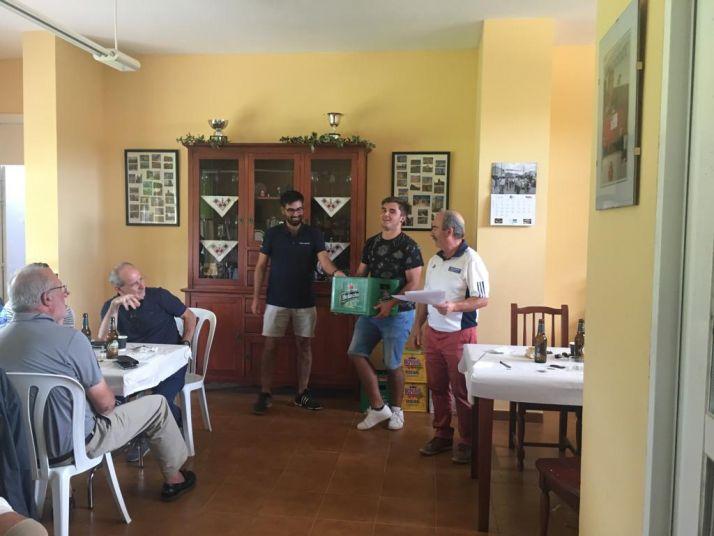 Foto 1 - Juan Carlos Ramos, ganador del torneo de golf Heineken en Morón de Almazán