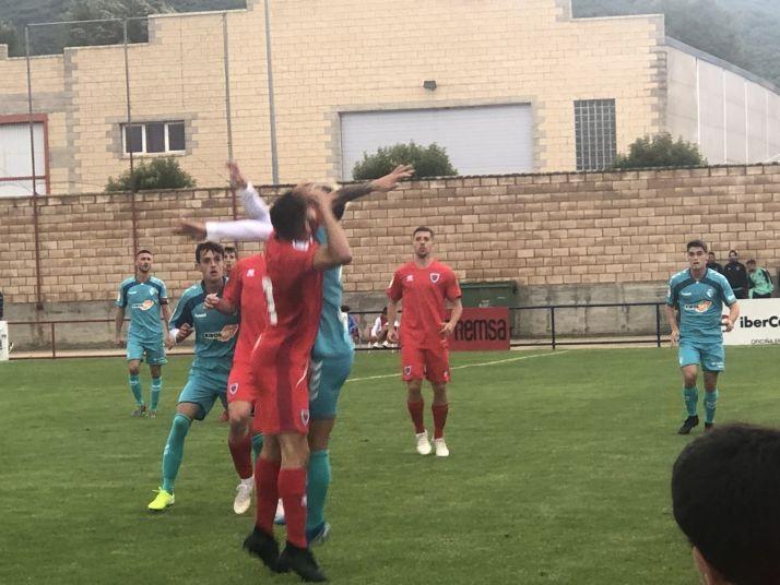 Foto 2 - El Numancia vence a Osasuna (3-1) en Ólvega