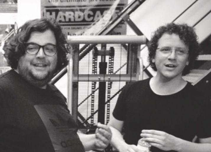 Alberto Martos y Ambrosio Valero.