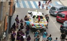 Una imagen del arranque festivo en Ágreda. /SN