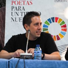 El escritor y músico soriano Alberto Sanz Martínez publica 'Los hijos de Qwerty', su primer libr