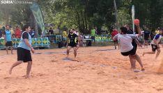 Uno de los partidos sénior jugados en la primera jornada. /SN