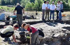 Las labores en el yacimiento de Los Casares delimitarán una vivienda tardo-visigoda del siglo VII