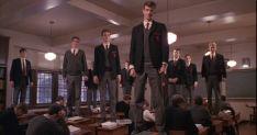 Escena de la película 'El Club de los Poetas Muertos'.