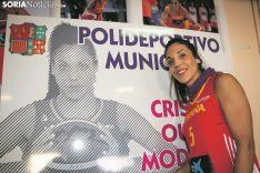 Cristina Ouviña, la niña de los ojos de Borobia. María Ferrer