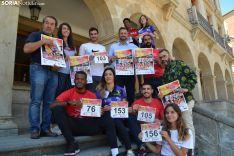 Figuras de renombre para el atletismo soriano presentaron el Memorial Diego Barranco en el Ayuntamiento de Soria. SN