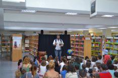 Los cuentacuentos llenan la biblioteca pública de Soria