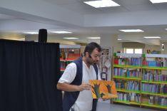 Foto 3 - Los cuentacuentos llenan la biblioteca pública de Soria