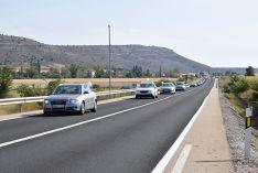 Cerca de 15 kilómetros de caravana y uno 500 vehículos en la marcha lenta para exigir la finaliz