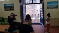 Una joven aspirante a actriz durante el casting. /SN