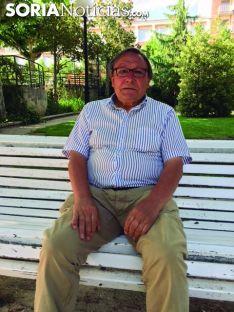 Alfredo Jimeno Martínez se sienta en el Rincón de Soria Noticias