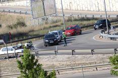 Foto 4 - Cerca de 15 kilómetros de caravana y uno 500 vehículos en la marcha lenta para exigir la finalización de la Autovía del Duero