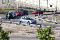 Foto 3 - Cerca de 15 kilómetros de caravana y uno 500 vehículos en la marcha lenta para exigir la finalización de la Autovía del Duero