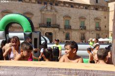 Fiesta pasada por agua en Almazán.