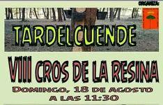El domingo, el Cross de la Resina en Tardelcuende